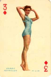Debbie Reynolds filmsterplaatje